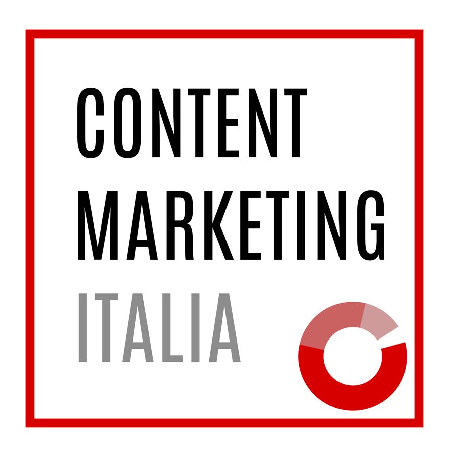 Logo Content Marketing Italia quadrato